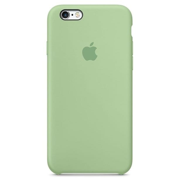 Apple Apricot Silicone Kryt iPhone 6/6S