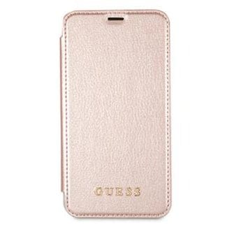 Guess IriDescent Rose Gold Book Kryt iPhone 7/8