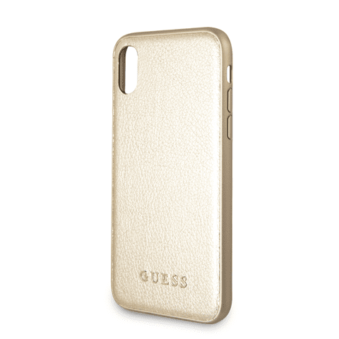 Guess IriDescent Gold Kryt iPhone X/XS