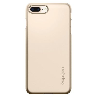 Spigen Thin Fit Champagne Gold Kryt iPhone 7 Plus/8 Plus