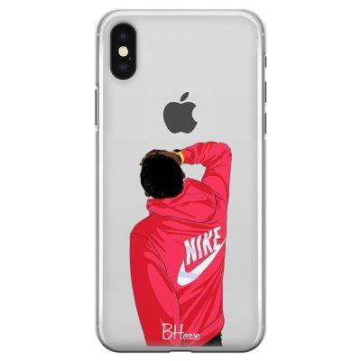 Back Boy Nike Kryt iPhone XS Max