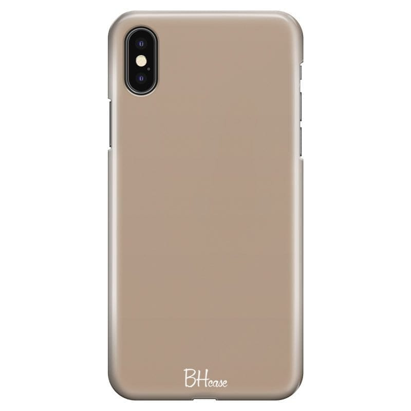 Beige Kryt iPhone X/XS