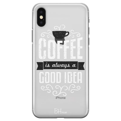Coffee Is Good Idea Kryt iPhone X/XS