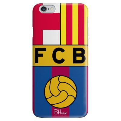FC Barcelona Kryt iPhone 6 Plus/6S Plus