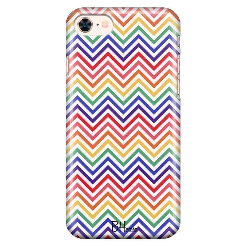 Rainbow Geometric Kryt iPhone 8/7/SE 2 2020