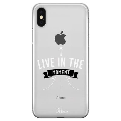 Live In The Moment Kryt iPhone XS Max