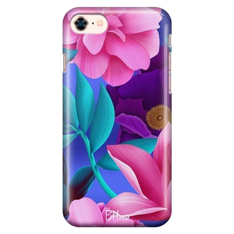 Pinky Floral Kryt iPhone 8/7/SE 2 2020