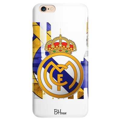 Real Madrid Logo Kryt iPhone 6/6S