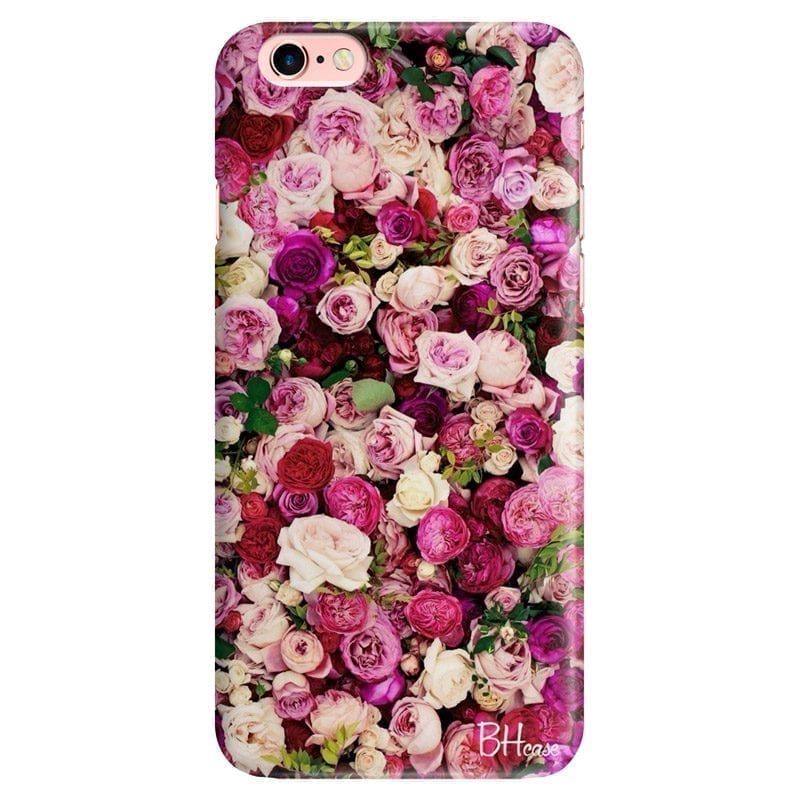 Roses Pink Kryt iPhone 6/6S