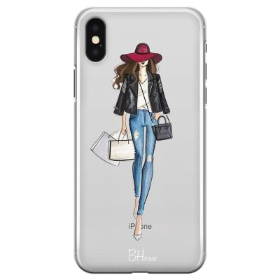 Shopping Girl Kryt iPhone XS Max