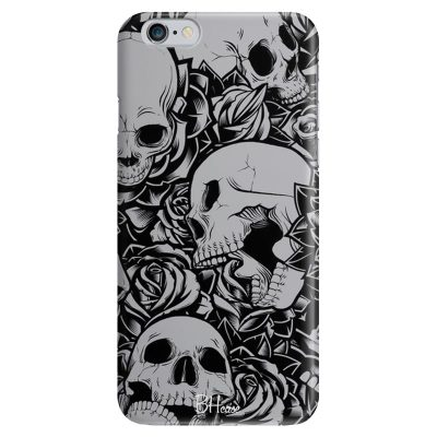 Skulls Rose Kryt iPhone 6/6S