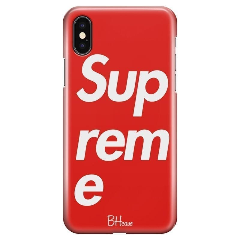 Supreme Kryt iPhone X/XS