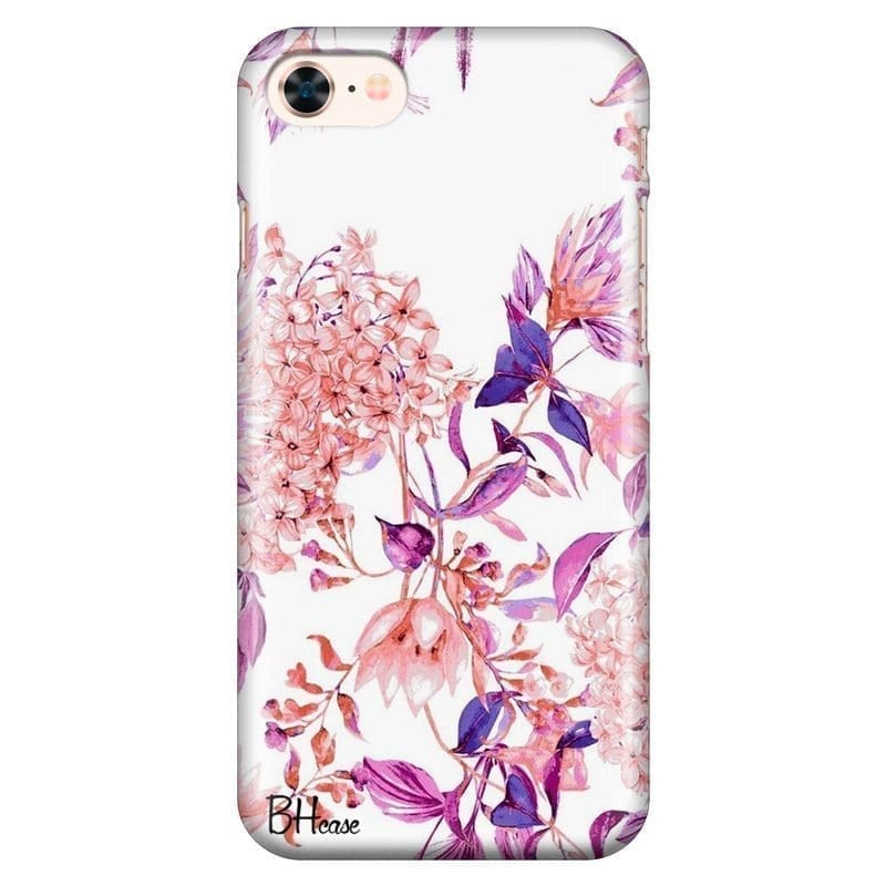 Vintage Pink Flowers Kryt iPhone 7/8