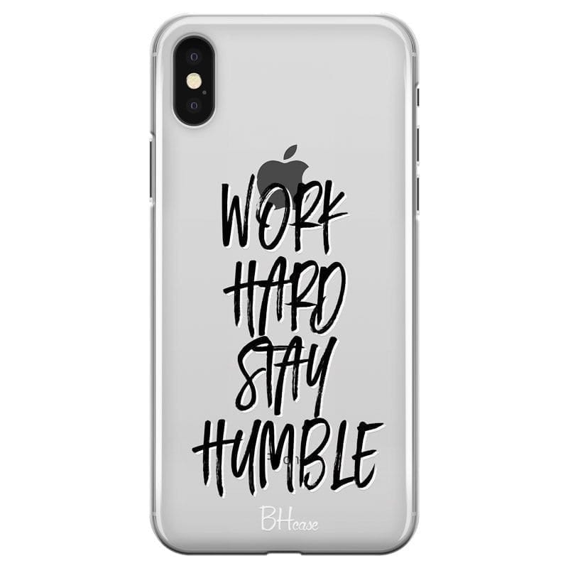 Work Hard Stay Humble Kryt iPhone X/XS