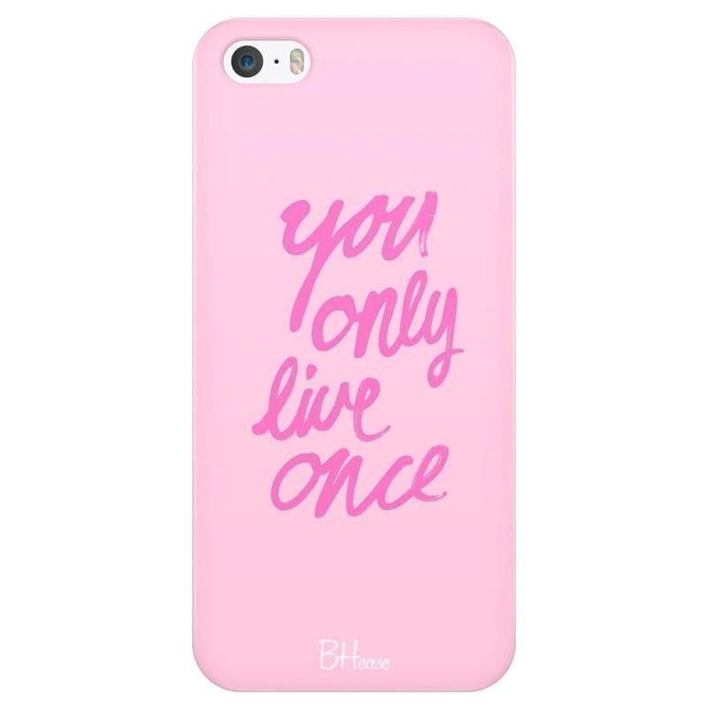 You Only Live Once Kryt iPhone SE/5S