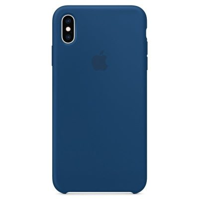 Apple Blue Horizon Silicone Kryt iPhone XS Max
