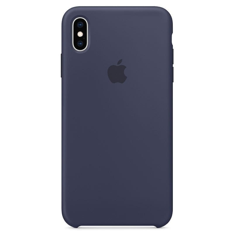 Apple Midnight Blue Silicone Kryt iPhone XS Max