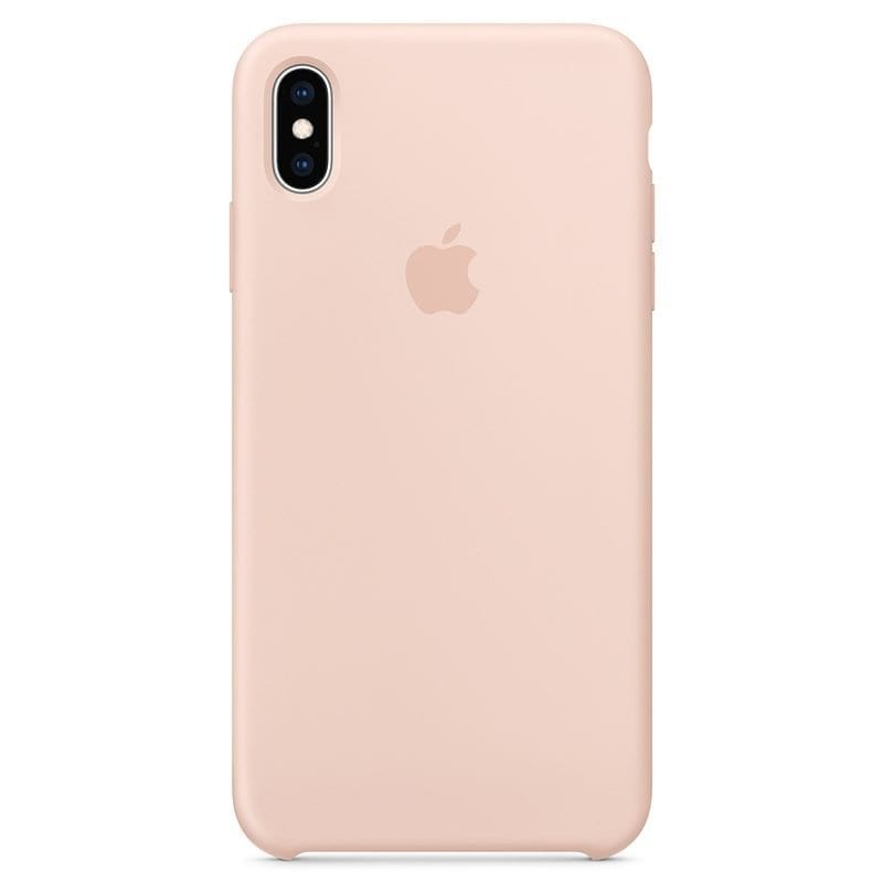 Apple Pink Sand Silicone Kryt iPhone XS Max