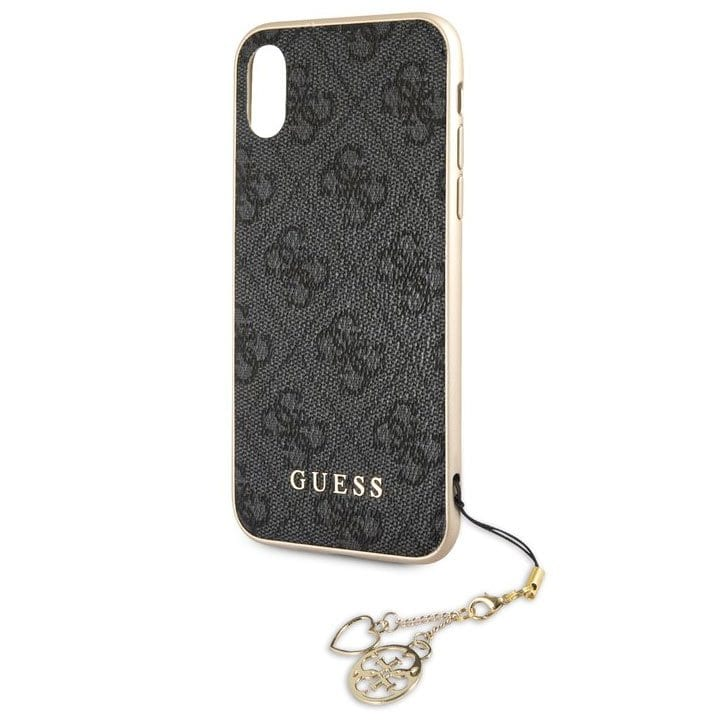 Guess Charms 4G Grey Kryt iPhone XR