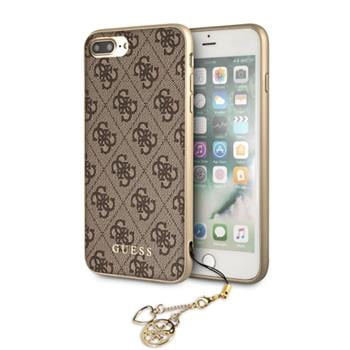 Guess 4G Charms Brown Kryt iPhone 8 Plus/7 Plus/6S Plus/6 Plus