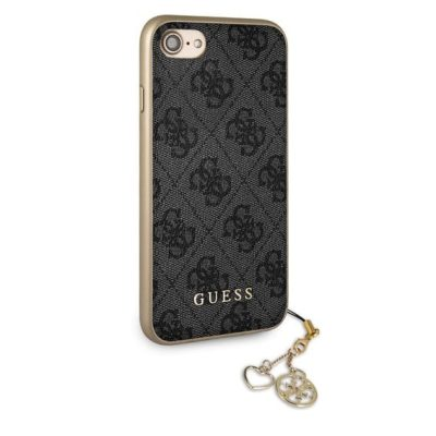 Guess 4G Grey Charms Kryt iPhone 8/7/6S/6