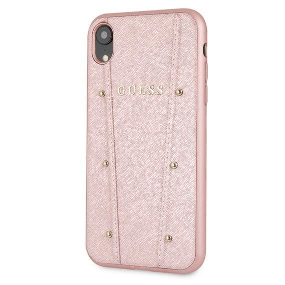 Guess Kaia Rose Gold Kryt iPhone XR