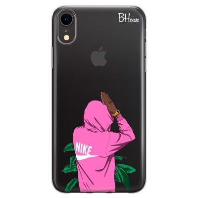 Nike Pink Boy Kryt iPhone XR