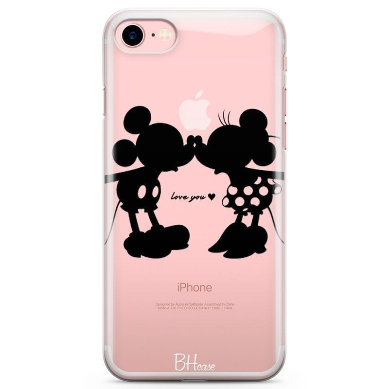 Minnie & Mickey Mouse Kryt iPhone 7/8