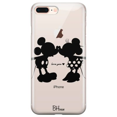 Minnie & Mickey Mouse Kryt iPhone 7 Plus/8 Plus