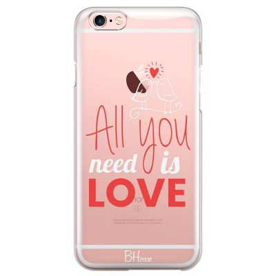 All You Need Is Love Kryt iPhone 6 Plus/6S Plus