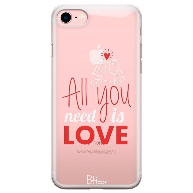 All You Need Is Love Kryt iPhone 7/8