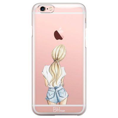 Blonde Back Girl Kryt iPhone 6/6S