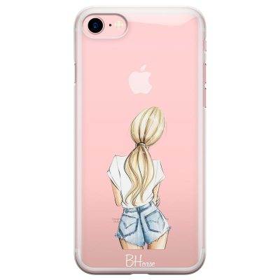 Blonde Back Girl Kryt iPhone 7/8