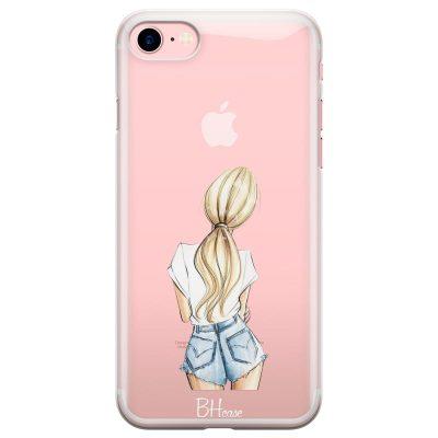 Blonde Back Girl Kryt iPhone 7/8