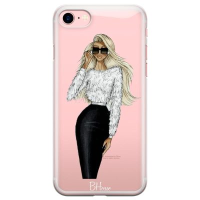 Blonde High Fashion Girl Kryt iPhone 7/8