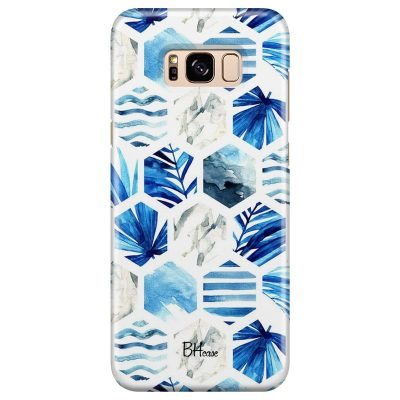 Blue Design Kryt Samsung S8 Plus