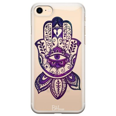 Bohemian Purple Hand Kryt iPhone 7/8