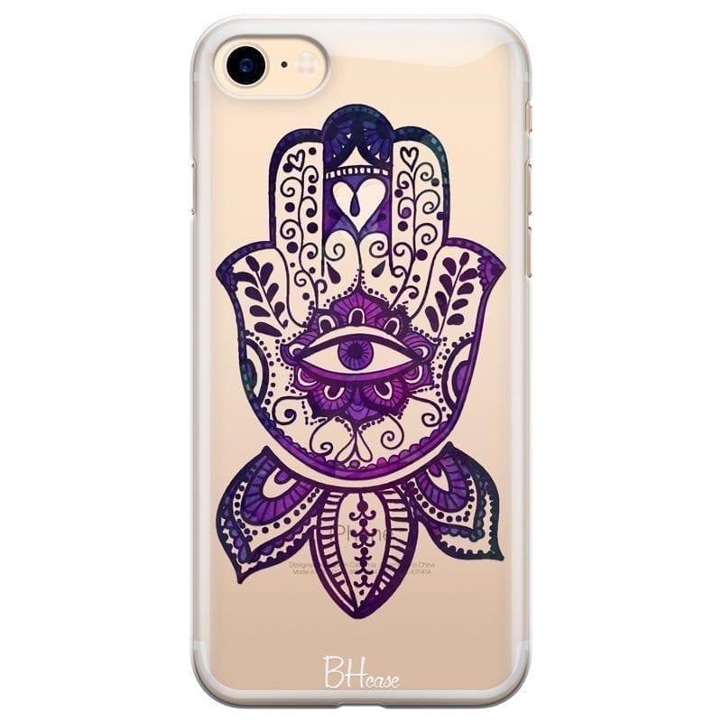 Bohemian Purple Hand Kryt iPhone 7/8