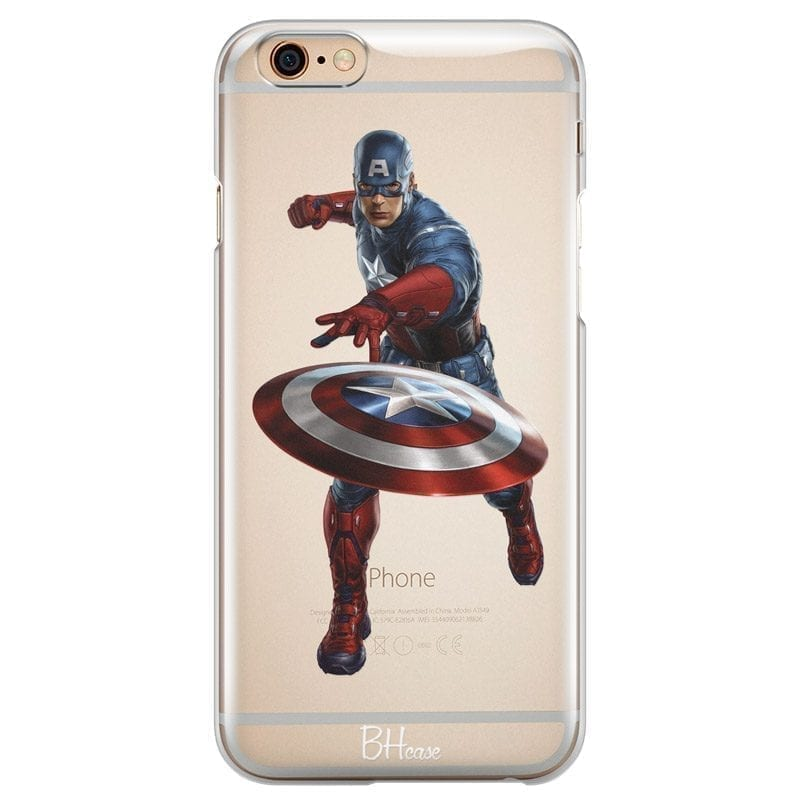 Captain America Kryt iPhone 6/6S