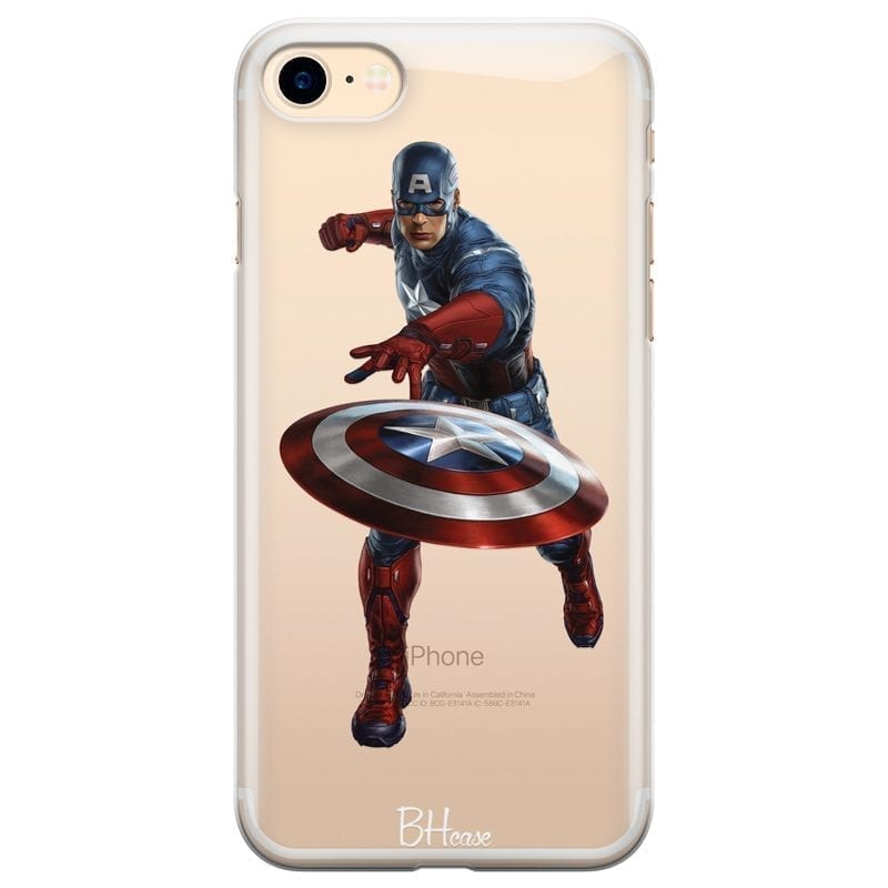 Captain America Kryt iPhone 7/8