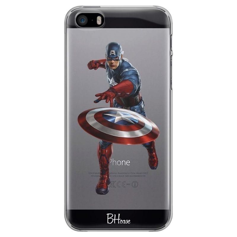 Captain America Kryt iPhone SE/5S