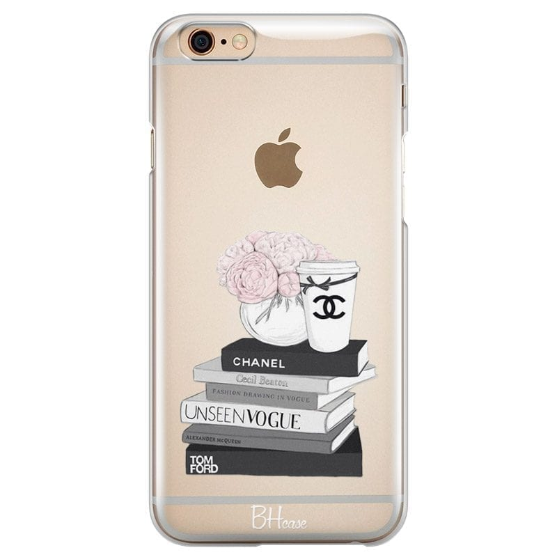 Chanel Vogue Books Kryt iPhone 6/6S