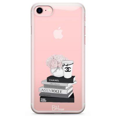 Chanel Vogue Books Kryt iPhone 7/8