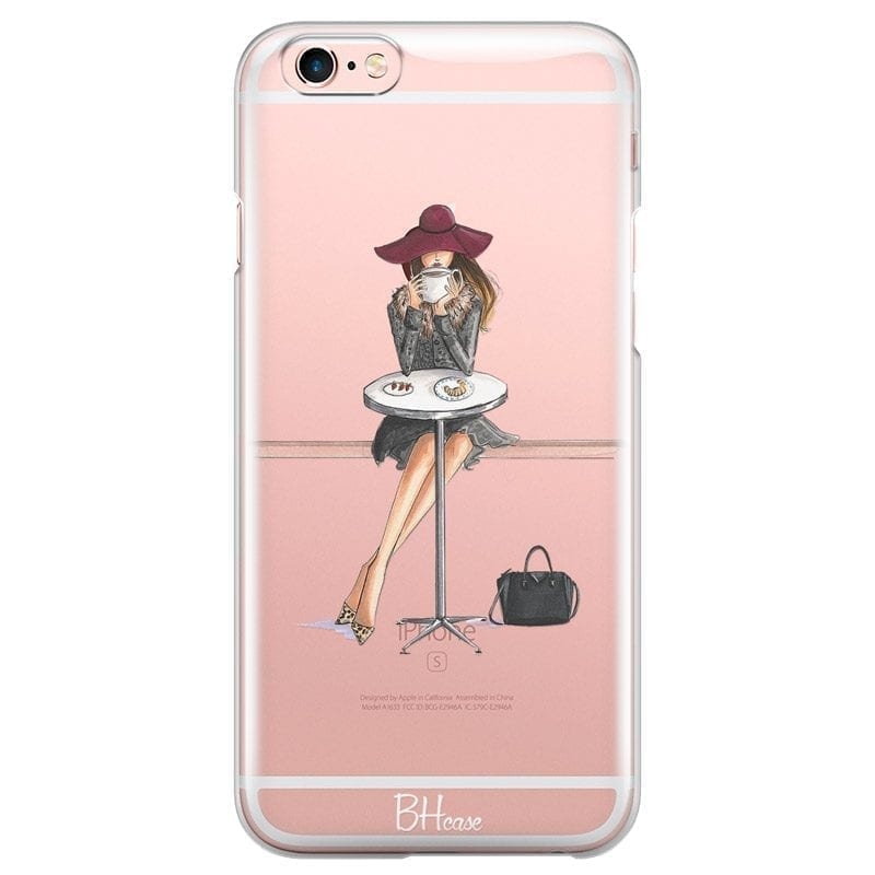 Coffee Girl Kryt iPhone 6 Plus/6S Plus