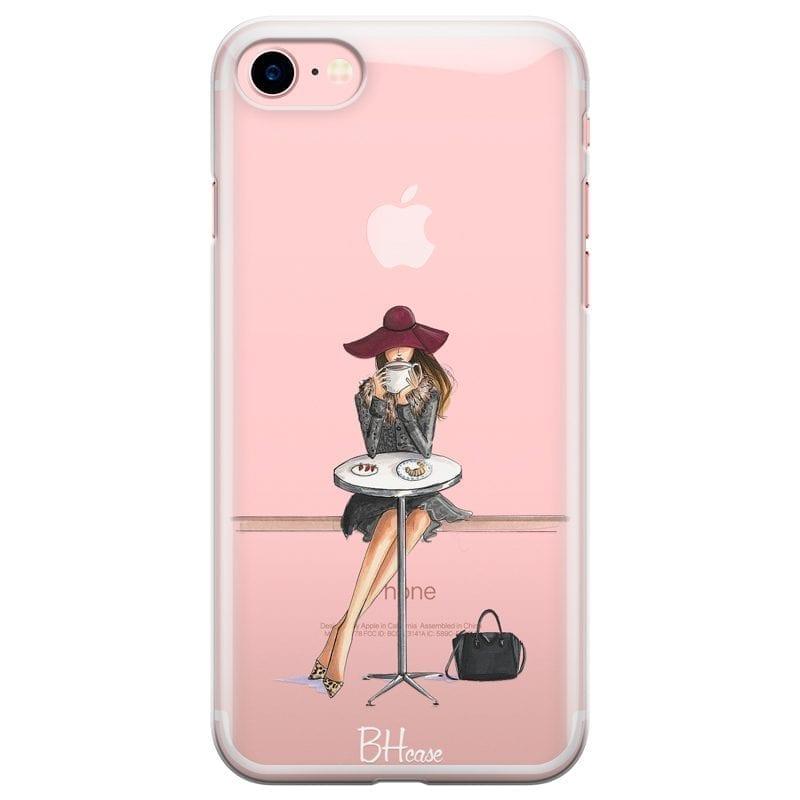 Coffee Girl Kryt iPhone 7/8