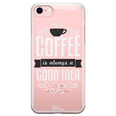Coffee Is Good Idea Kryt iPhone 8/7/SE 2 2020