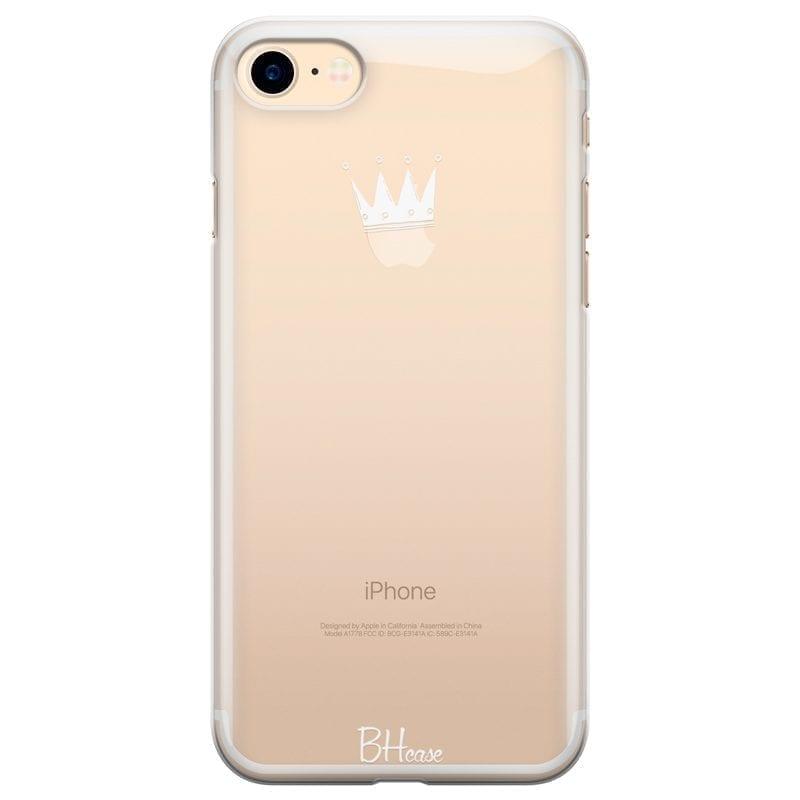 Crown Apple Kryt iPhone 7/8