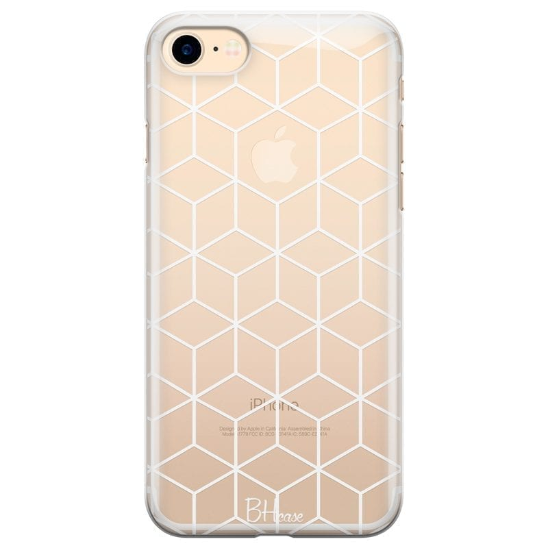 Cubic Grid Kryt iPhone 7/8