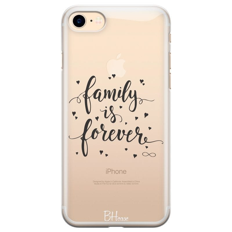 Family Is Forever Kryt iPhone 7/8