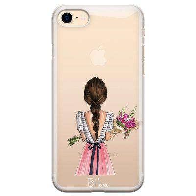Floral Girl Kryt iPhone 7/8